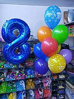 Цифра + 10 шаров