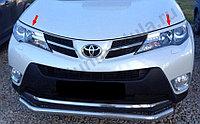 Реснички на фары на  TOYOTA RAV 4/Тойота Рав 4 2013-, фото 1