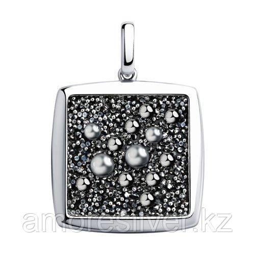 Подвеска из серебра с кристаллом Swarovski    SOKOLOV 94032482