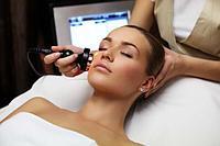 Процедура 7-ми этапная кислородная, лечебная чистка лица.