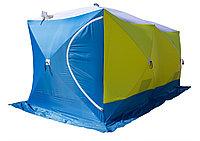Палатка рыбака Стэк КУБ 3 ДУБЛЬ (трехслойная, дышащая)