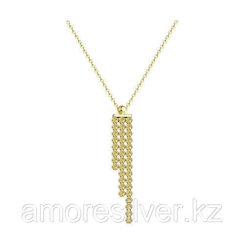 Колье из серебра с фианитами  SOKOLOV 94074571 размеры - 50