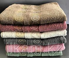 Полотенце махровое (одно)