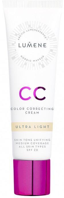 CC-крем для лица SPF 20, оттенок 3490 Ultra light