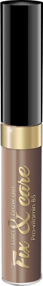 Гель для бровей и ресниц Art Visage оттеночный, оттенок светло-коричневый