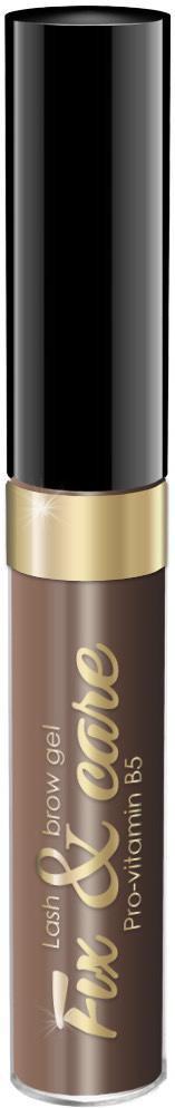 Гель для бровей и ресниц Art Visage оттеночный, оттенок коричневый