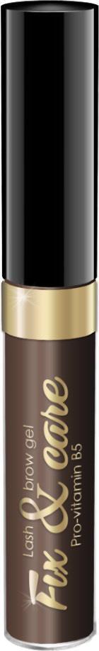 Гель для бровей и ресниц Art Visage оттеночный, оттенок темно-коричневый