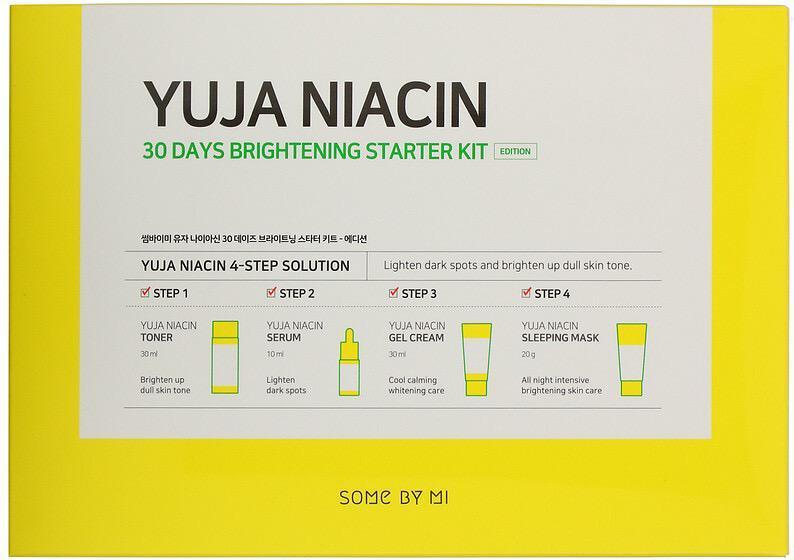 Набор для ухода за кожей лица «Yuja Niacin»