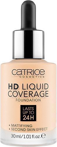 Тональная основа «HD Liquid Coverage Foundation», оттенок 002 Porcelain Beige