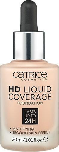 Тональная основа «HD Liquid Coverage Foundation», оттенок 010 Light Beige