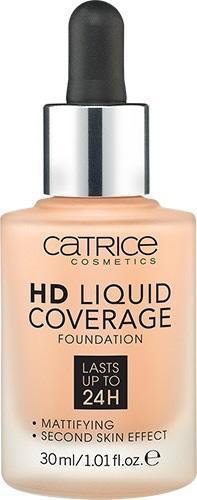 Тональная основа «HD Liquid Coverage Foundation», оттенок 030 Sand Beige