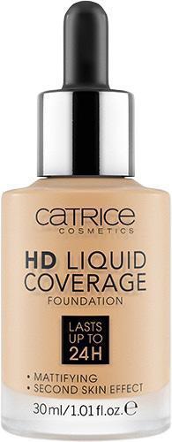 Тональная основа «HD Liquid Coverage Foundation», оттенок 036 Hazelnut Beige