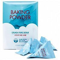 Скраб для очищения кожи лица с пищевой содой Baking powder