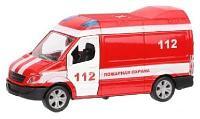 Машина инерционная Пожарная охрана, открываются двери