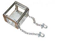 Мобильная площадка для лебёдки с цепным крепежом