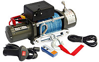 Лебедка электрическая 12V Electric Winch 12000lbs / 5443 кг с кевларовым тросом