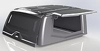 Крыша (кунг) кузова для УАЗ Пикап (двойная кабина) 2015- чёрная (3 двери) Expedition
