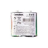 Батарейка CAMELION Super Heavy Duty R14P-SP2G 2 шт. в плёнке, фото 2