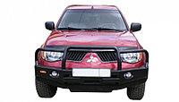 Бампер передний БС.14 Mitsubishi L200 / Pajero Sport (2006-2015) с кенгурином