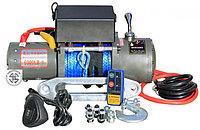 Лебедка электрическая 12V Electric Winch 6000lbs / 2722 кг с кевларовым тросом
