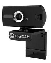 Веб-камера, фиксированная с микрофоном, Digicam web USB2.0, 1080P30