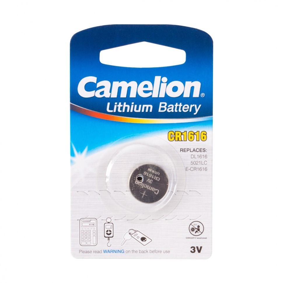 Батарейка CAMELION Lithium CR1616-BP1