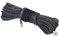 Трос синтетический (кевларовый) для лебедки 12мм*25м готовый