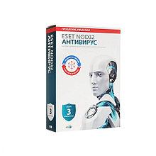 Антивирус ESET NOD32 BOX продление или новая лицензия на 1 год для 3 ПК