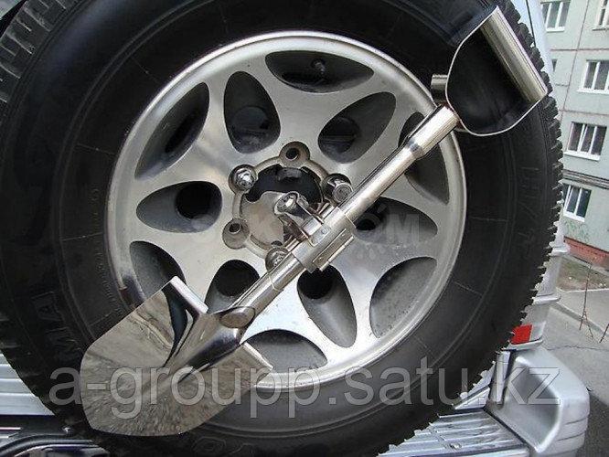 Лопата в комплекте с креплением к запасному колесу - фото 2