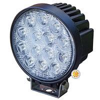 Фара дополнительного освещения LED 42W (14 сверх ярких диодов, мощность одного 3Ватт ), круглая