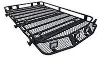 Багажник экспедиционный PGT-B.103.05 Toyota Prado 90/95 1900х1200х120 с сеткой и креплениями на рейл