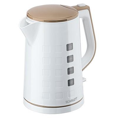 Электрический чайник Scarlett SC-EK18P58 белый