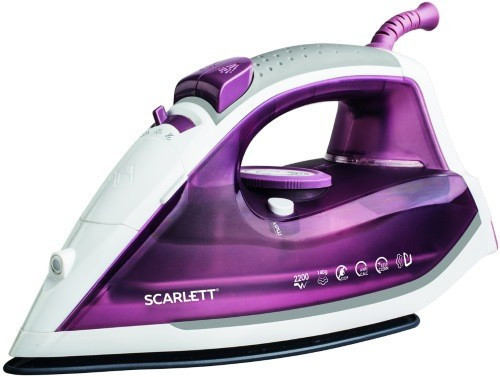 Утюг Scarlett SC-SI30K20 фиолетовый