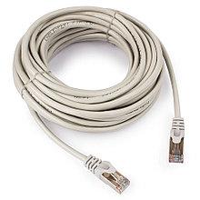 Патч-корд FTP Cablexpert PP22-10m кат.5e, 10м, литой, многожильный (серый)