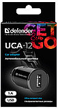 Адаптер питания Defender UCA-12 черный, 1xUSB, 5V/1А, фото 2
