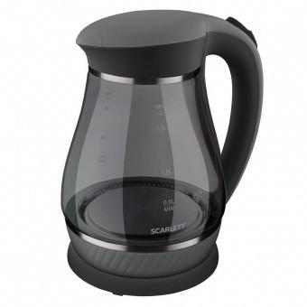 Электрический чайник Scarlett SC-EK27G82 (стекло) черный
