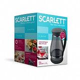 Электрический чайник Scarlett SC-EK27G82 (стекло) черный, фото 3