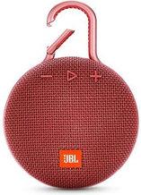 Акустическая система JBL CLIP 3, красный