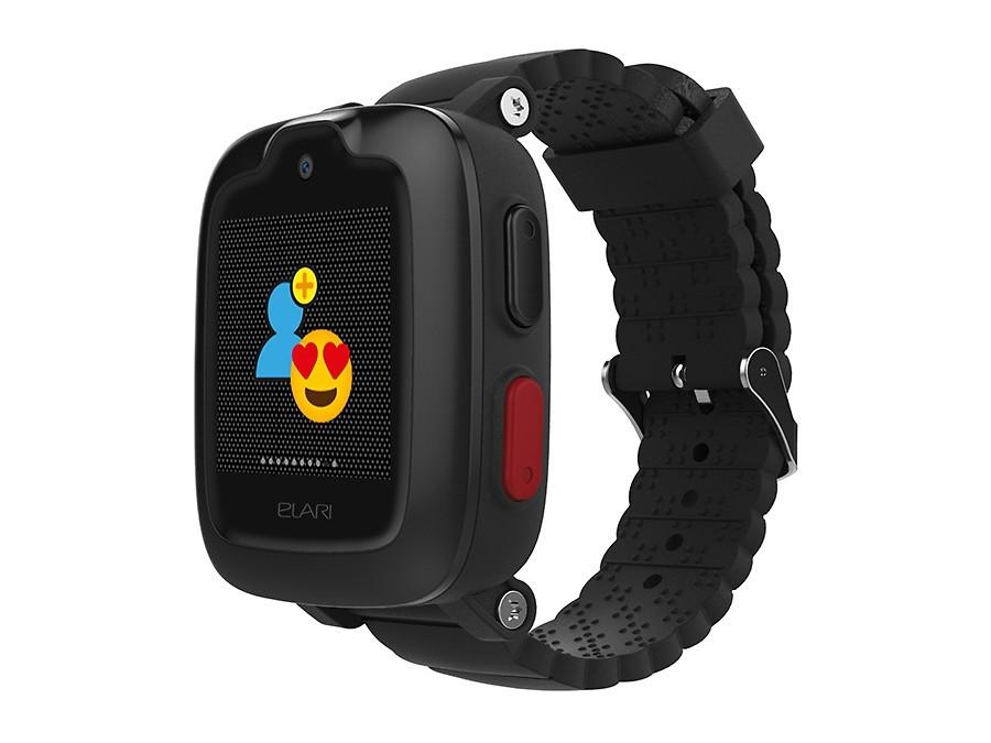 Смарт часы Elari KIDPHONE 3G с Алисой черный