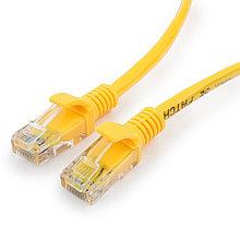Патч-корд UTP Cablexpert PP12-30M/Y кат.5e, 30м, литой, многожильный (жёлтый)
