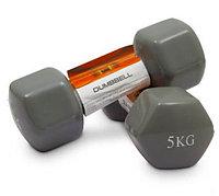 Гантели HomeSport виниловые 5 кг - пара (общий вес 10 кг)
