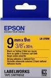 Лента Epson C53S653005 LC3YBW9 повышенной адгезии 9мм Желт./Черн., 9м