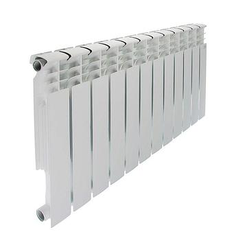 Радиатор алюминиевый STI, 500 х 80 мм, 12 секций