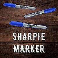Sharpie marker/синий
