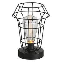 Настольная лампа SPACY 1x0,06Вт LED черный 15x15x21,5см