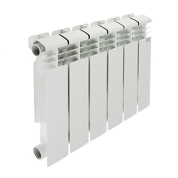 Радиатор биметаллический STI, 350 х 80 мм, 6 секций