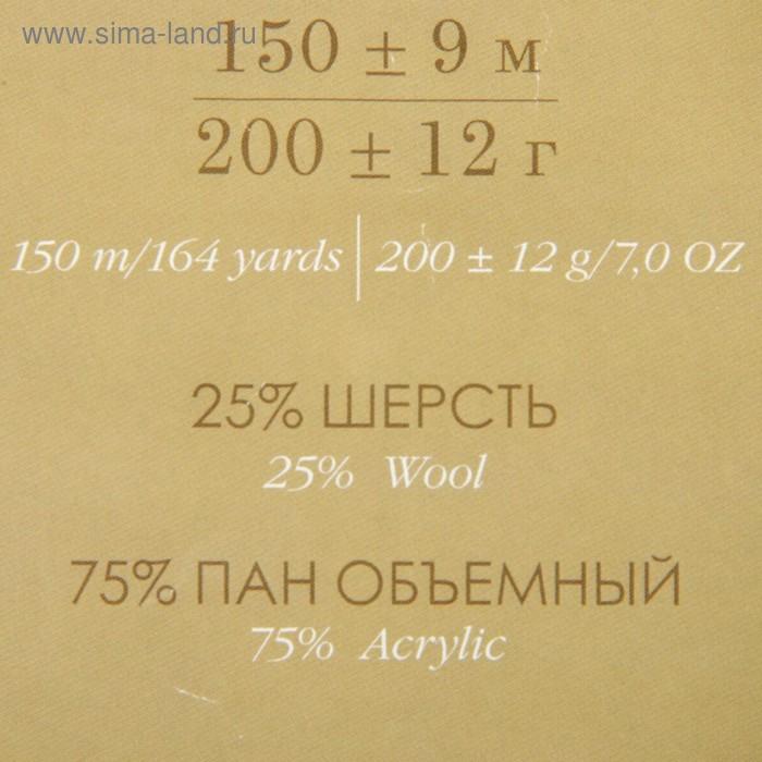 """Пряжа """"Осенняя"""" 25% шерсть, 75% ПАН 150м/200гр (119-Горох) - фото 3"""