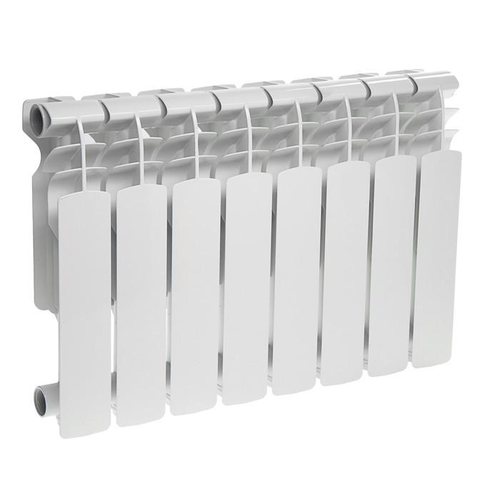 Радиатор алюминиевый Oasis, 350 х 96 мм, 8 секций