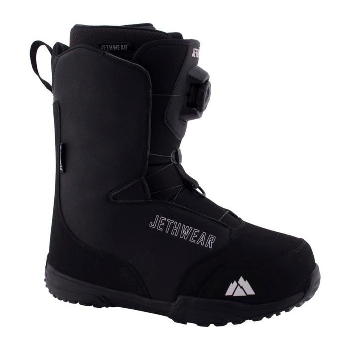 Ботинки Jethwear Ridge, размер 42, чёрный