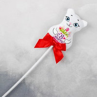 Мягкая игрушка на палочке 'С 8 марта', кошка (комплект из 10 шт.)